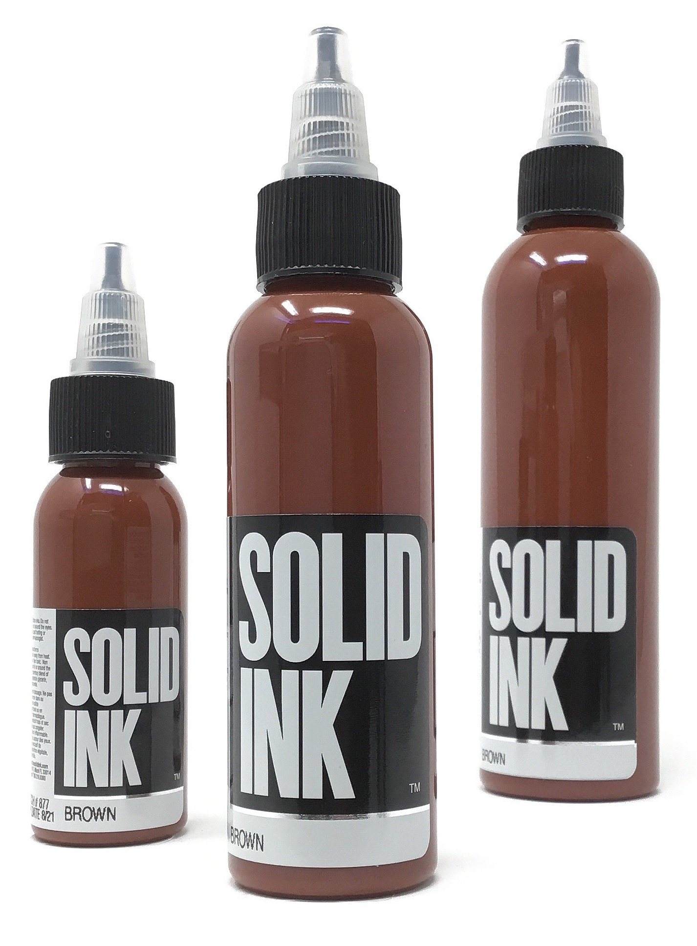 Solid Tattoo Ink Brown