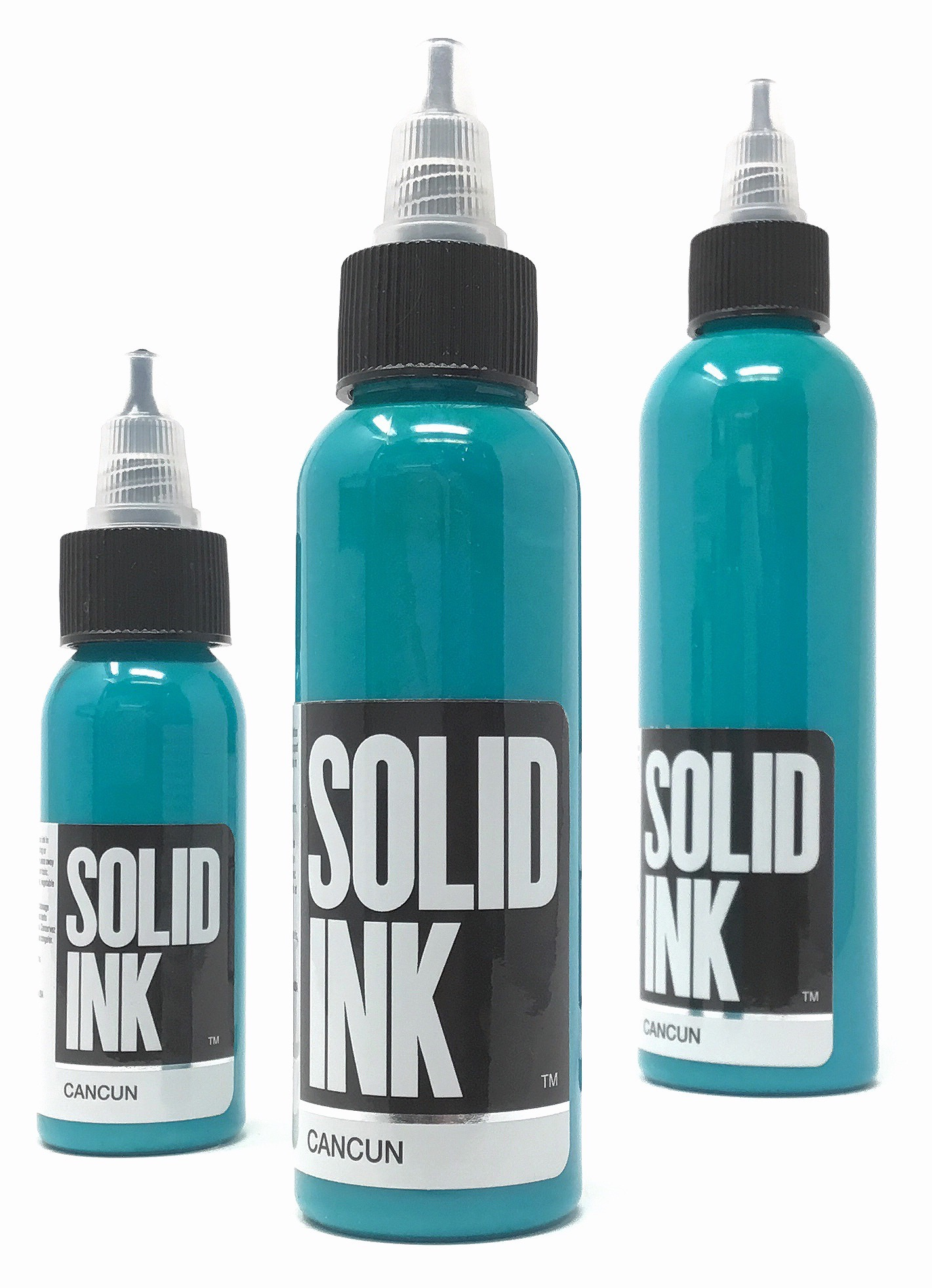 Solid Tattoo Ink Cancun Blue