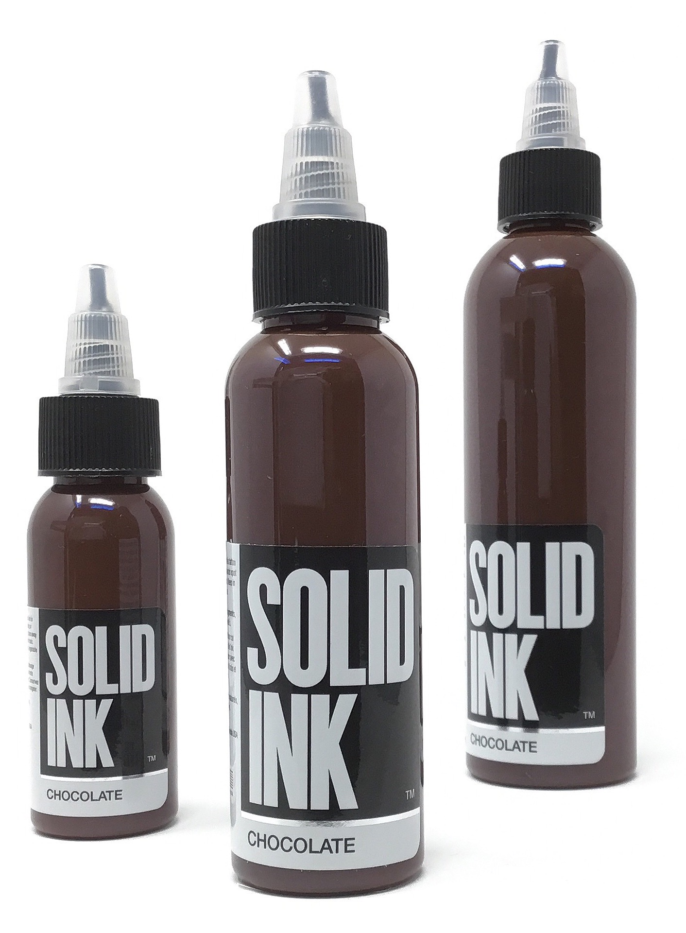 Solid Tattoo Ink Chocolate