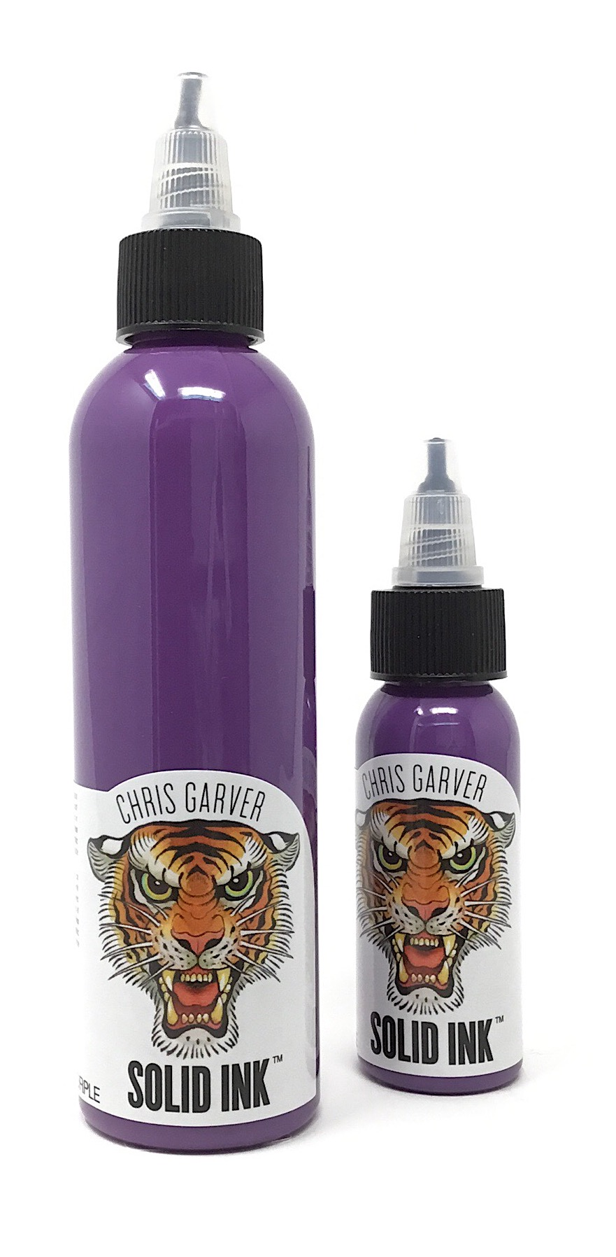Solid Tattoo Ink Garver Dirty Purple