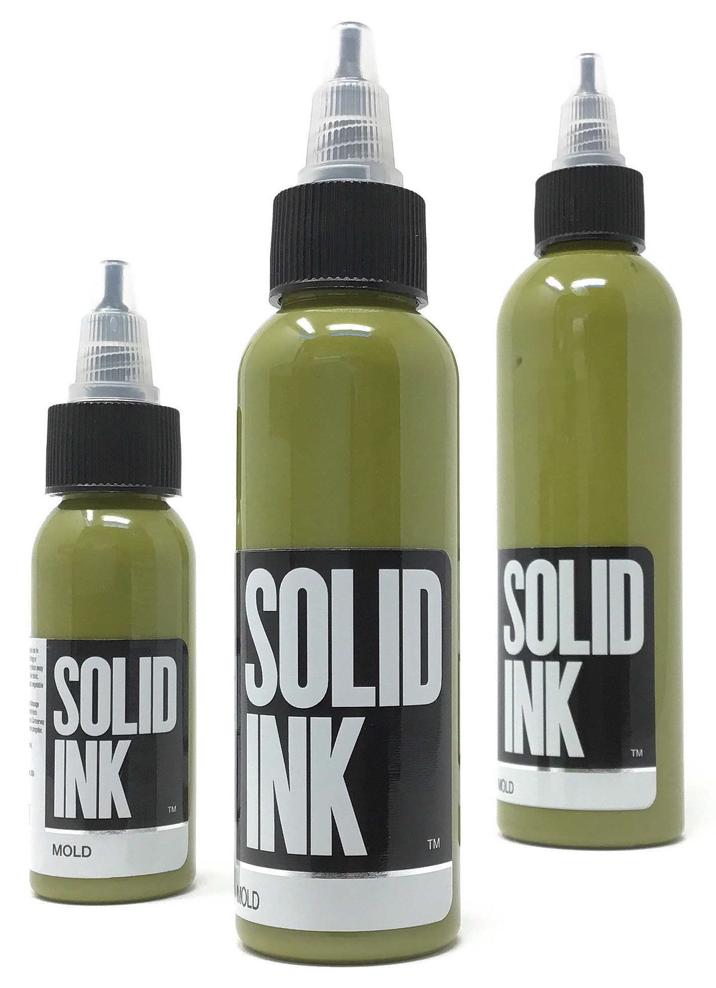 Solid Tattoo Ink Mold