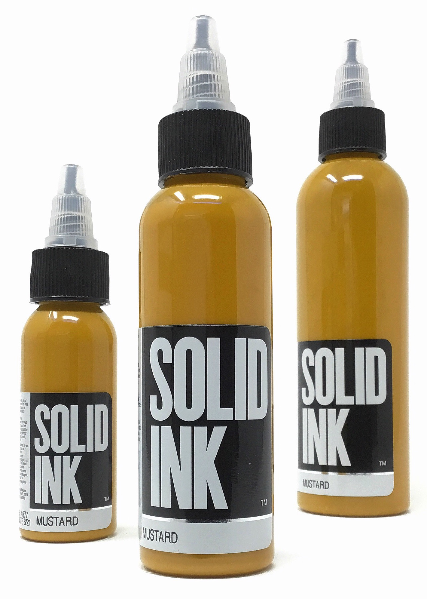 Solid Tattoo Ink Mustard