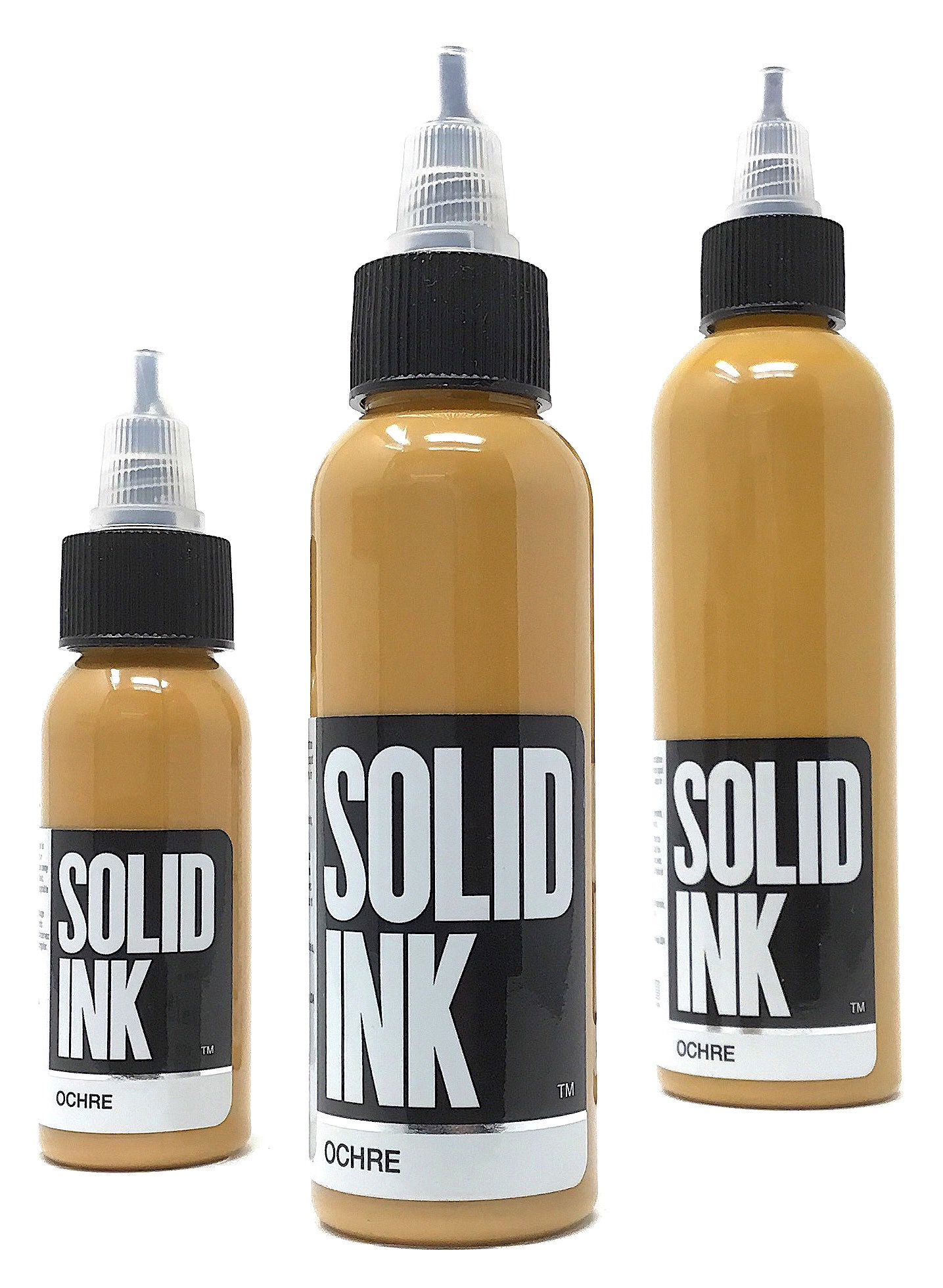 Solid Tattoo Ink Ochre