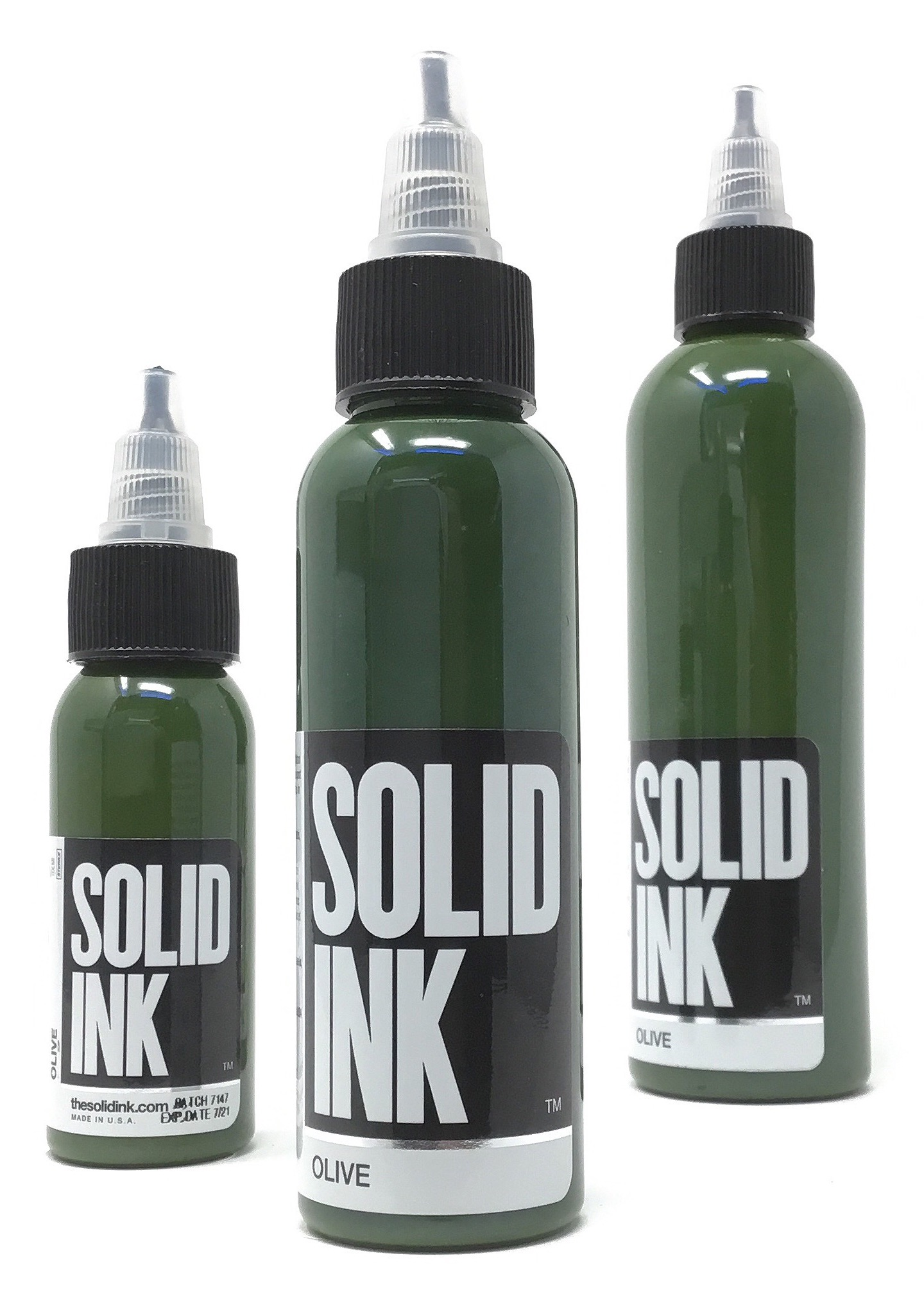 Solid Tattoo Ink Olive