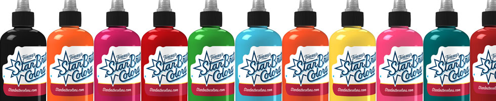 StarBrite Tattoo Ink at Joker Tattoo Supply!  Get Your StarBrite Ink Delivered Fast & Accurate!
