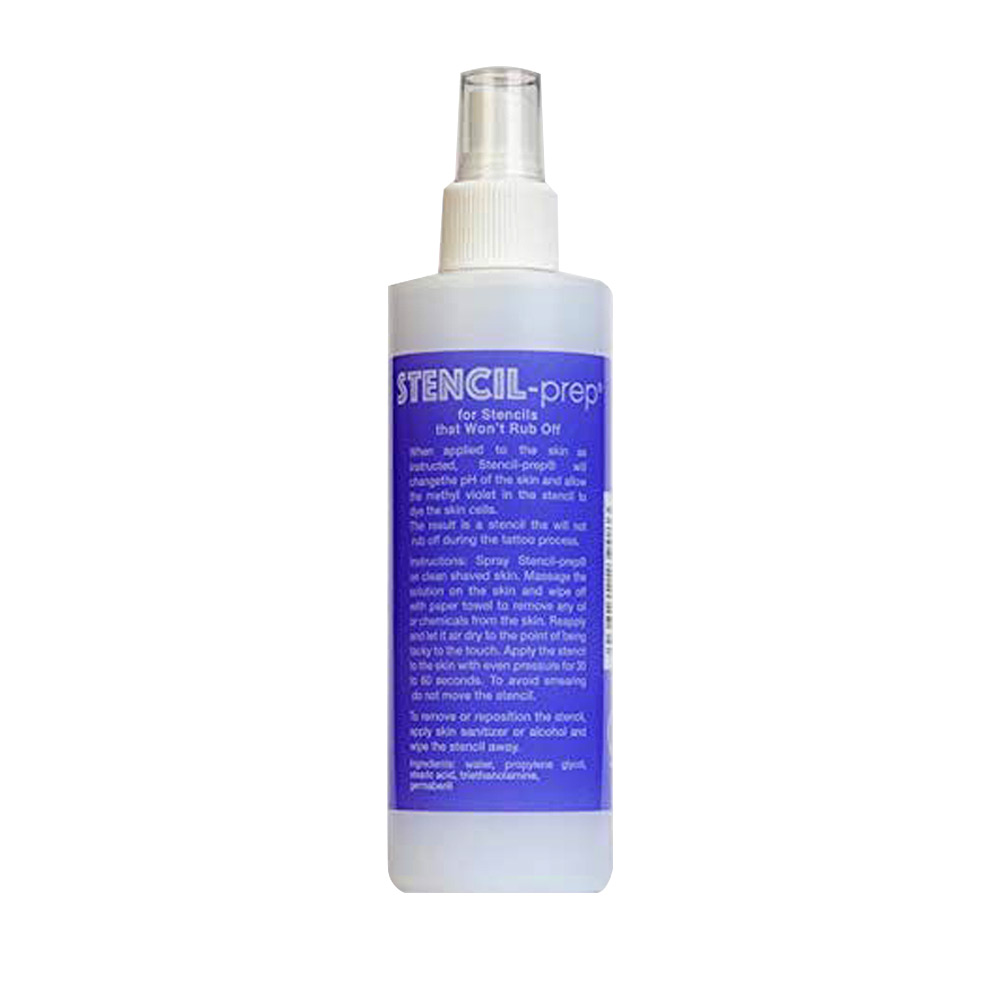 Stencil Prep Solution 8 oz. Bottle