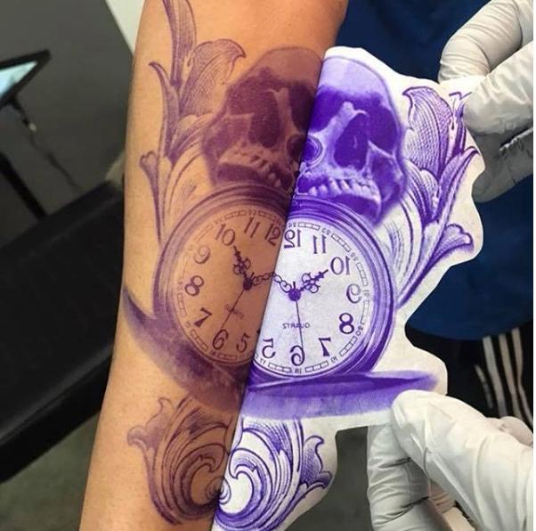 Tattoo InkJet Stencil Printing Service | Joker Tattoo Supply ...