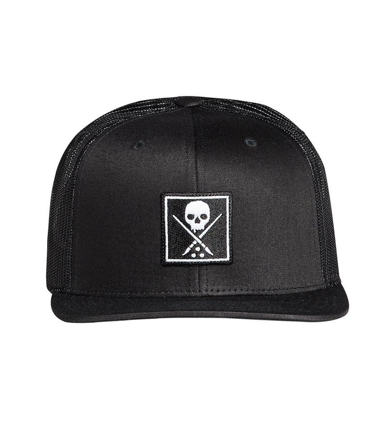 Sullen Collective Snapback Black Hat