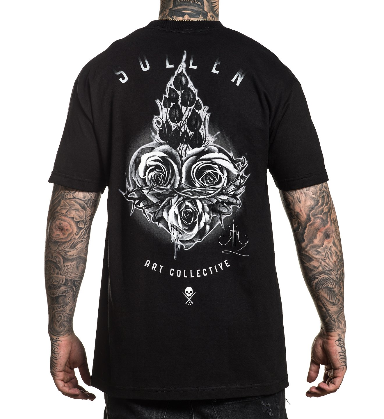 Sacred Rose T-Shirt by Sullen