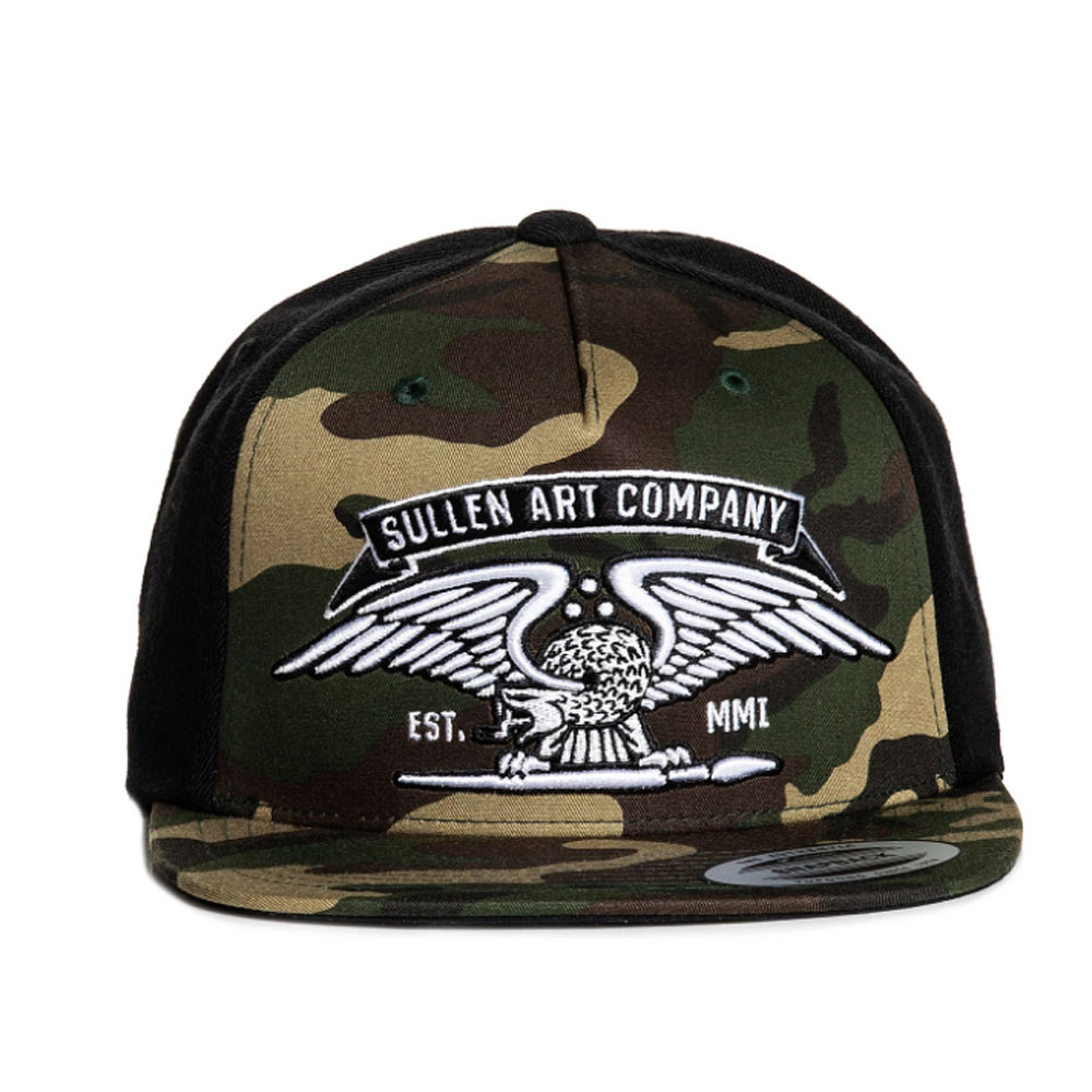 Sullen No Time Snapback Camo Hat
