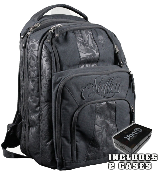 "Tattoo Travel Bag ""Blaq Paq"" by Sullen"