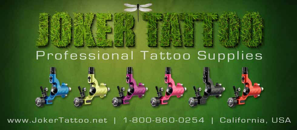 joker tattoo supply