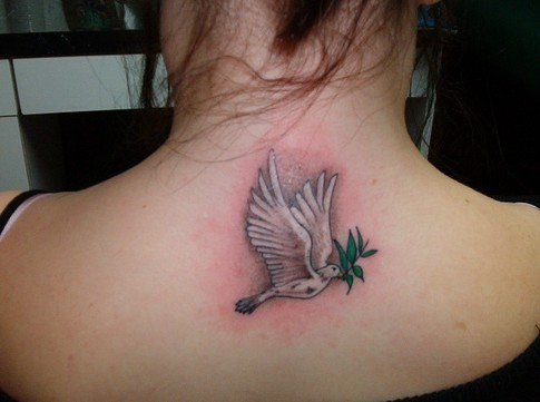 traditional-dove-tattoo-color.jpg. Old School Tattoos
