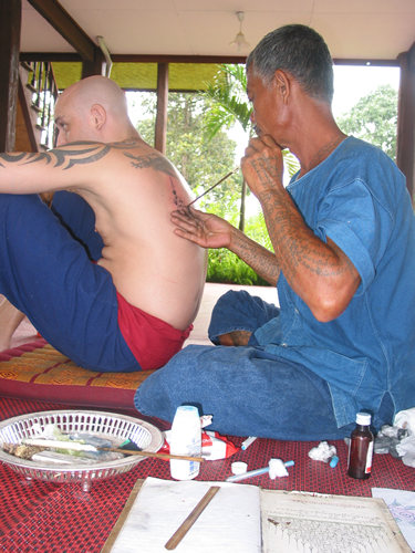 sacred-tattoos.jpg Tattoos have long been associated with rituals amongst