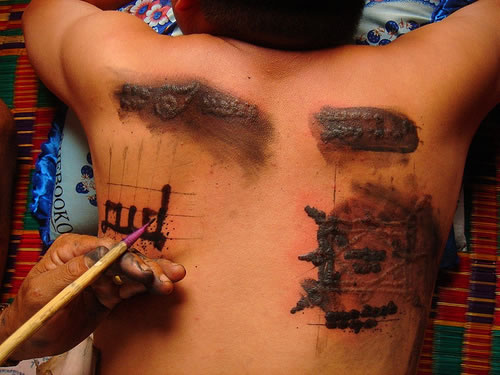 it's now stretched out, or even gang related. Laser tattoo removal