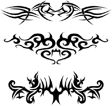 Tattoo Tribal Lettering